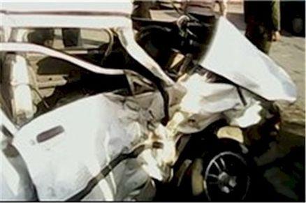 فوری/ تصادف مرگبار در نزدیکی میانه با 5 قربانی