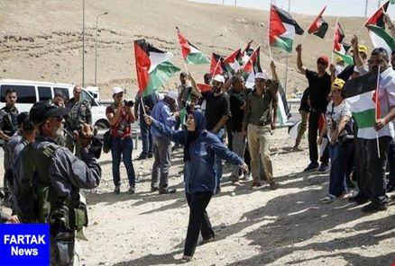 آخرین اخبار از تظاهرات غزه: یک شهید و ۲۲۰ زخمی