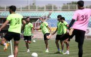 گزارش تمرین پرسپولیس/ کری خوانی گلمحمدی و باقری با بازیکنان