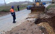 بازگشایی 58 راه ارتباطی روستای کوهدشت