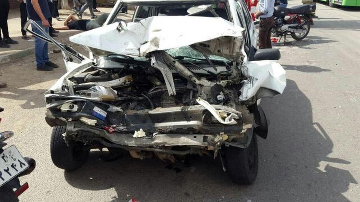 تصادف مرگبار در تهران