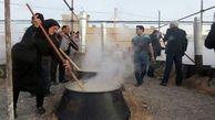 پخت حلیم سنتی در سفیدشهر