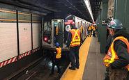 حادثهای در مترو که در ثانیههای آخر به خیر گذشت + فیلم