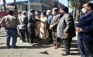 گزارش تصویری/توزیع بسته های همدلی در عید ولایت