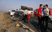 برخورد خودرو با زائران عراقی در غرب داورزن سه کشته داشت