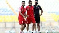 گزارش تمرین پرسپولیس| تنیس فوتبال و آقا وسط قبل از بازی با فولاد