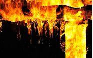 مرگ سه کارگر در حریق کارگاه ضایعاتی