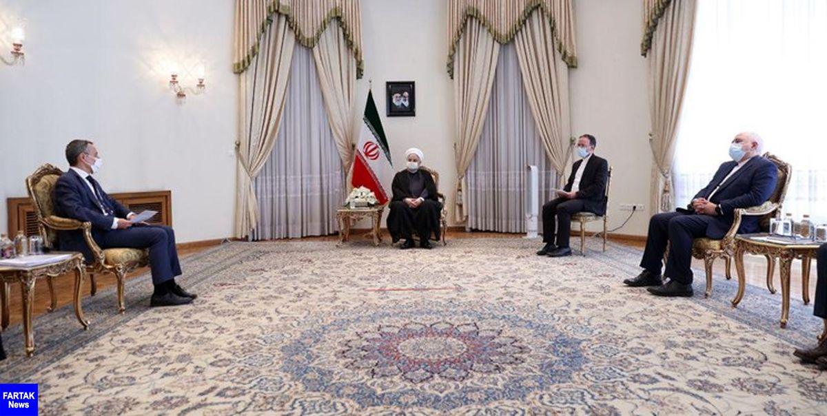 وزیر خارجه سوئیس با روحانی دیدار کرد
