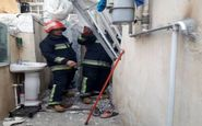 مصدومیت چهار نفر در حادثه آتش سوزی کارون
