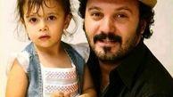 برف بازی عجیب و غریب بازیگر مشهور و دخترش+عکس