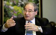وزیر خارجه سوریه تحریم شد