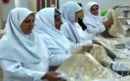 ۳۵ زن بیسرپرست و بد سرپرست در پناه یک کارآفرین زن اندیمشکی + فیلم