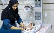 نجات جان نوزاد ۴۵ روزه آبادانی پس از انجام ۱۴ بار احیای قلبی