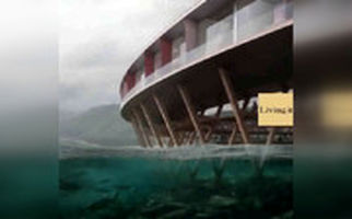 هتل «انرژی مثبت» در نزدیکی مدار قطب شمال+فیلم