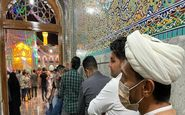 حضور گسترده زائران حرم رضوی در آخرین دقایق اخذ رای + تصاویر