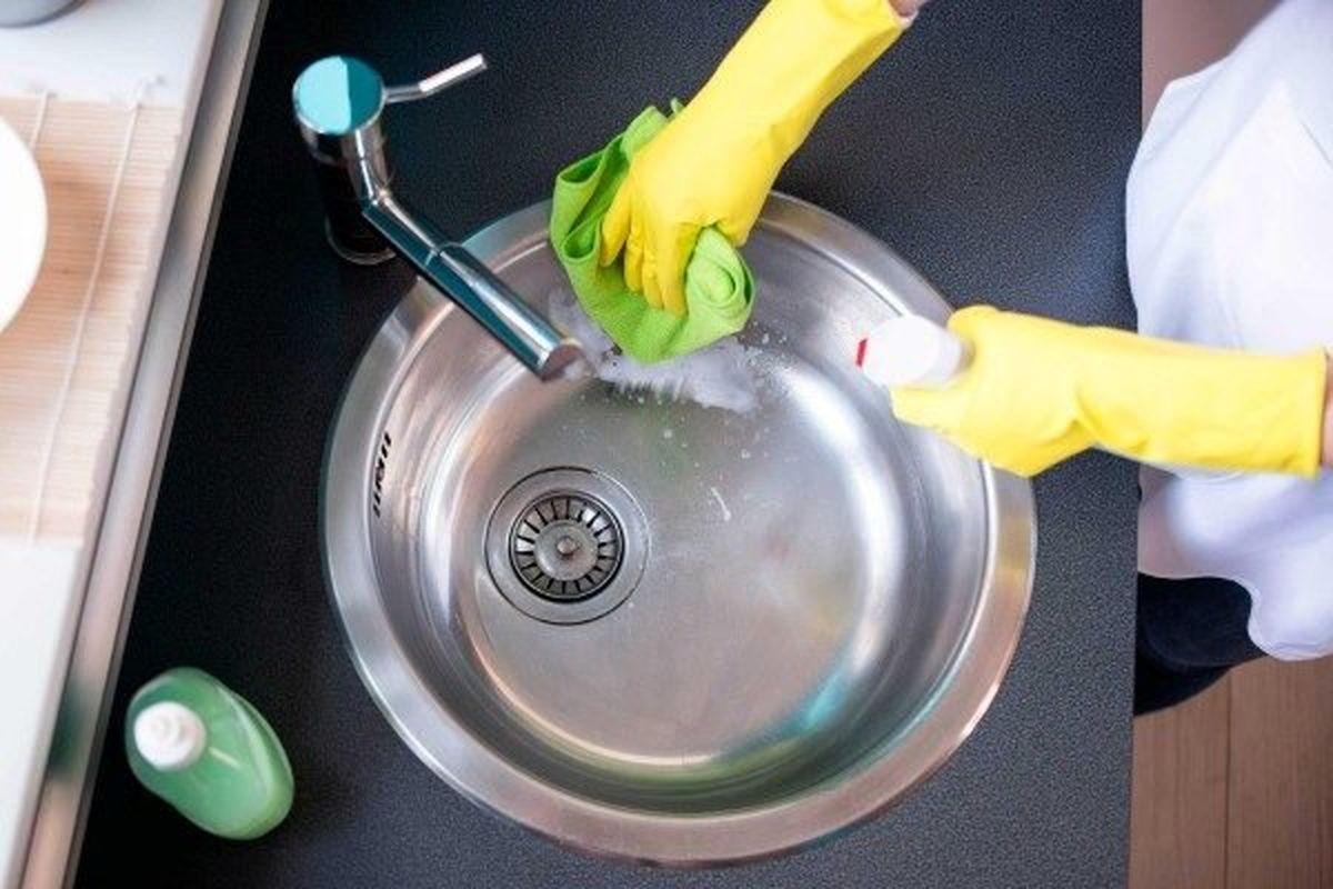ضدعفونی کردن سینک ظرفشویی پس از هربار شستشوی لوازم خریداری شده از بیرون ضروری است؟