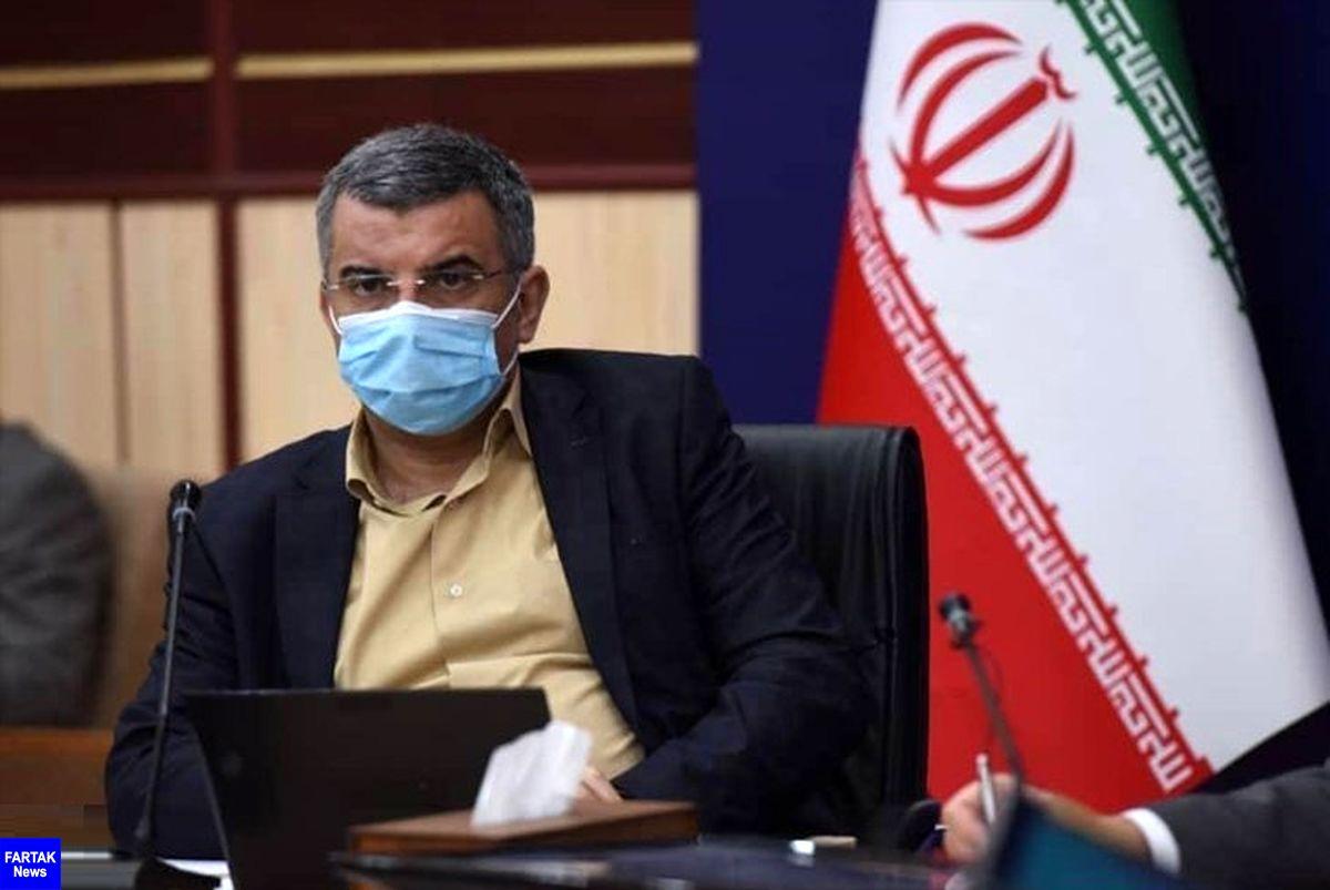 حریرچی: از فردا ارائه خدمت به افراد فاقد ماسک ممنوع است