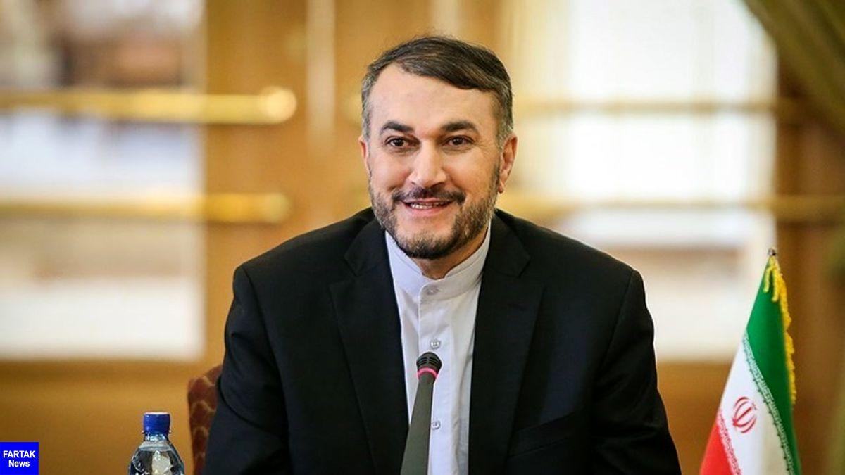 امیرعبداللهیان: امروز وزرای امارات و بحرین در سیرک ترامپ بازی کردند/ ناامنی تنها ارمغان اسراییل است