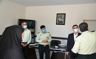 گزارش تصویری/حضور مدیرکل امور اجتماعی استانداری کرمانشاه در معاونت اجتماعی پلیس