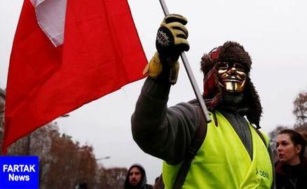 فرانسه برای اعتراضات بزرگتر جلیقه زردها آماده میشود