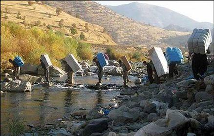 کولبران کردستان بیمه می شوند