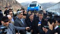 وزیر راه و شهرسازی در جمع خبرنگاران: پروژه راه آهن قزوین - رشت مراحل پایانی خود را طی می کند