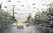 بارش باران و مه گرفتگی در همه محورهای شمالی کشور