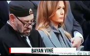 تعجب ترامپ از چرت زدن پادشاه مراکش حین سخنرانی مکرون! +فیلم