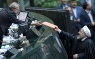 رییس جمهوری لایحه بودجه سال ۹۹ را تقدیم مجلس کرد