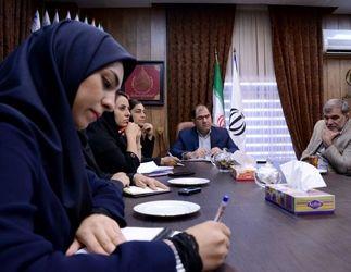 نشست اعضای انجمن نویسندگان، خبرنگاران و عکاسان ورزشی ایران
