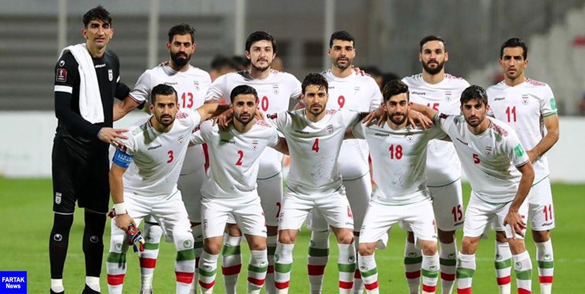جدول ردهبندی گروه سوم  صعود ایران به رده دوم با عبور از بحرین