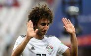 اخراج بازیکن مصر از جام ملتها به خاطر رسوایی اخلاقی
