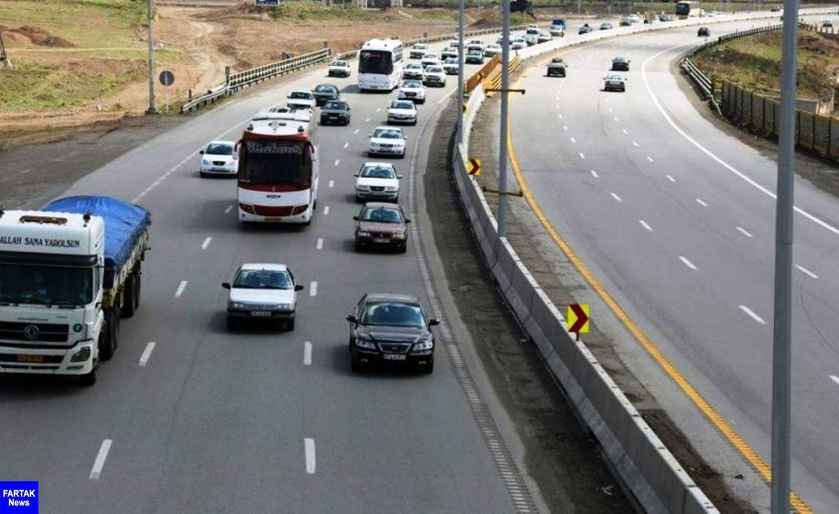 تردد بیش از ۹۰۲ هزار مسافر در جاده های کرمانشاه