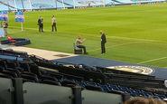 نشست دو نفره نابغهها بعد از بازی رئال و منچستر سیتی