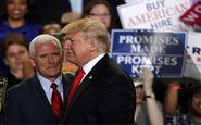 ترامپ به وفاداری مایک پنس شک کرده است