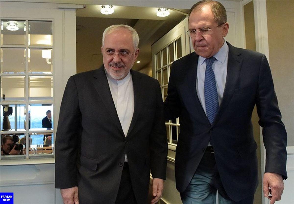 لاورف: وزیر امور خارجه ایران به مسکو سفر میکند