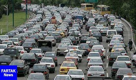 ترافیک در محورهای شمالی کشور