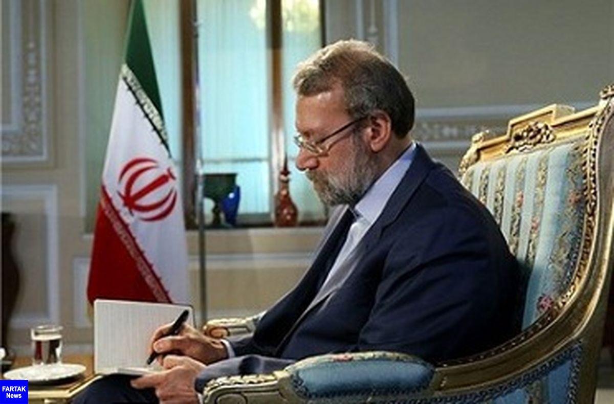 پیام تسلیت لاریجانی در پی درگذشت والده وزیر بهداشت و درمان