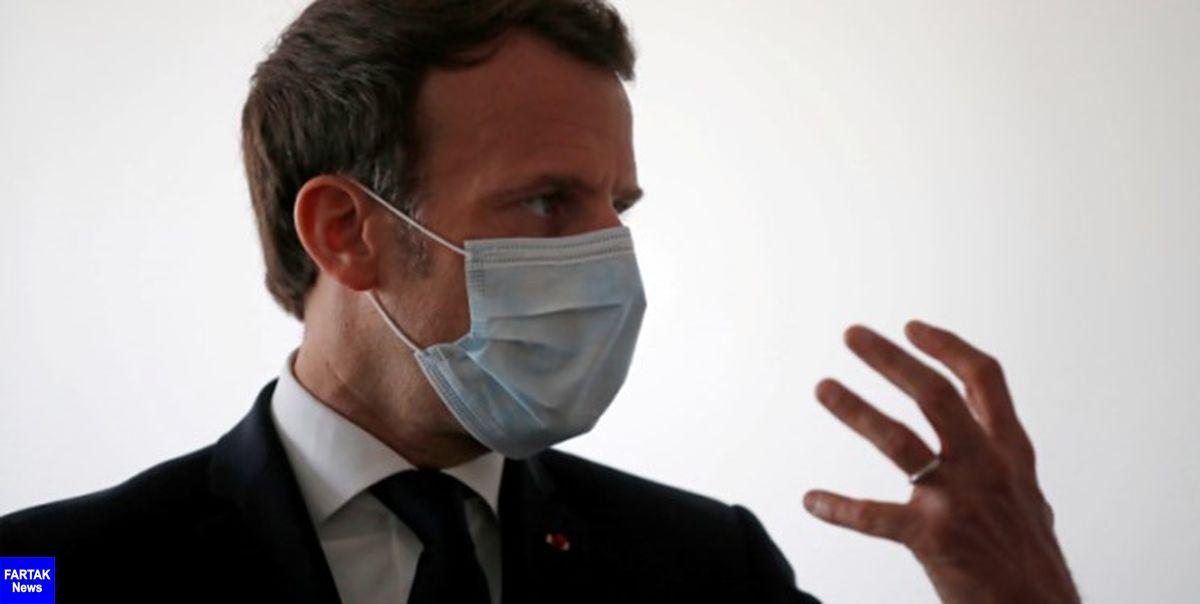 ماکرون از قرنطینه سراسری فرانسه از روز جمعه خبر داد