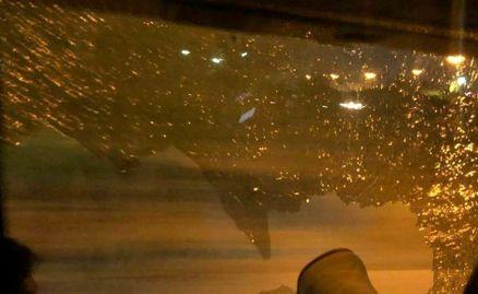 فوری / حمله به اتوبوس بازیکنان پرسپولیس + عکس