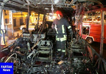 آتشسوزی اتوبوس مسافربری، مشهد به زاهدان