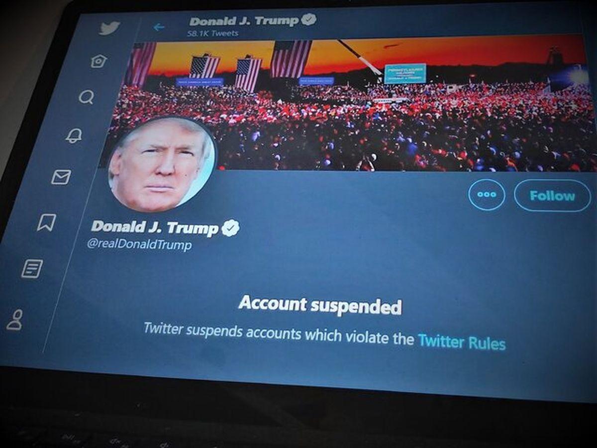 احتمال حذف توییتر ترامپ بعد از ترک کاخ سفید