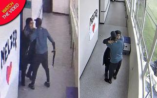 اقدام به خودکشی دانش آموز دبیرستانی با اسلحه در داخل کلاس
