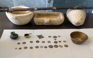 29 قلم اشیای عتیقه در کازرون کشف شد