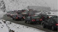 ترافیک در چالوس سنگین اعلام شد