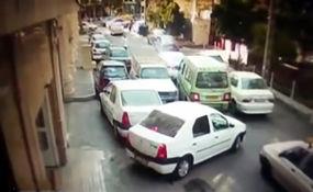 دو سال محرومیت از رانندگی و دو ماه پاکبانی در انتظار راننده جنجالی قیطریه + فیلم