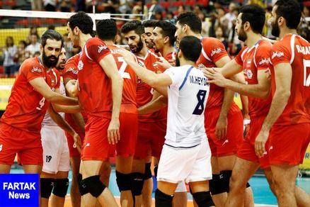 والیبال ایران در اندیشه جبران در شیکاگو