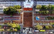 دعای ۱۰۰۰۰ نفری راهبان تایلندی
