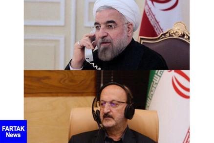 رئیس جمهور تلفنی از وضعیت آمادگی استان قزوین در حوادث مطلع شد