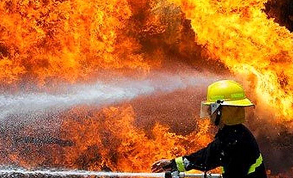 جزئیات حادثه آتش سوزی در یک ساختمان قدیمی